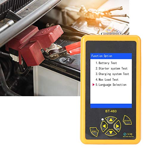 Fantastic Prices! Vehicle Battery Tester 4'' colorful TFT display car battery tester, Resistance Mea...