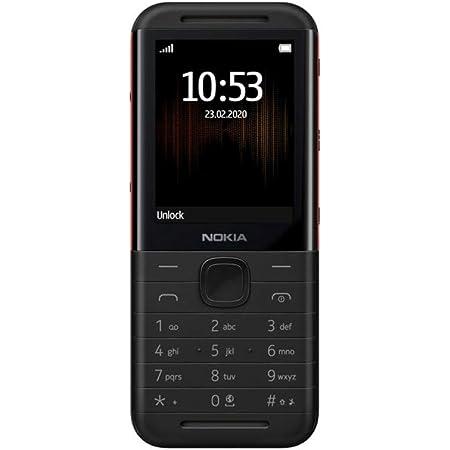 """Nokia 5310 - Teléfono móvil de 2,4""""(8 MB RAM, 16 MB ROM, Cámara VGA, Batería 1200mAh), Negro/Rojo [Versión ES/PT]"""