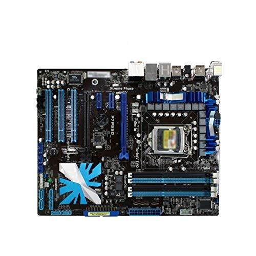 Tablero de reemplazo de computadora Placa Base De Juegos Fit For ASUS P7P55D Placa Base LGA 1156 DDR3 FIT PARA I5 I7 CPU 16GB USB2.0 SATA2 P55 Placa Base De Escritorio Placa base de computadora de esc