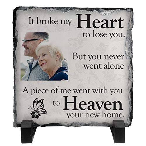 Personalised It broke my heart to lose you, but you never went alone Poem...