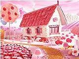Candy House 85D diamond painting art full diamond set, kit de punto de cruz decoración del hogar 40x50cm