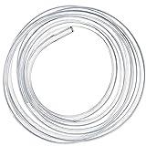PVC Tubo Transparente, 10 Metros Tubo Flexible Transparente, manguera de combustible, manguera de aceite 5 mm (diámetro Interior) x 8 mm (diámetro Exterior) Ideal para Tanque y Acuario (M2)