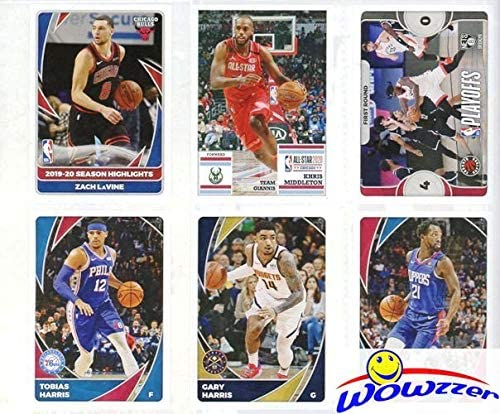 2020/21 Panini NBA Basketball HUGE 72 Page Stickers Collectors Album with 10 MINT Stickers! Every Team Features a 2 Page Color Spread! Great Collectible to House all your NEW NBA Stickers! WOWZZER!