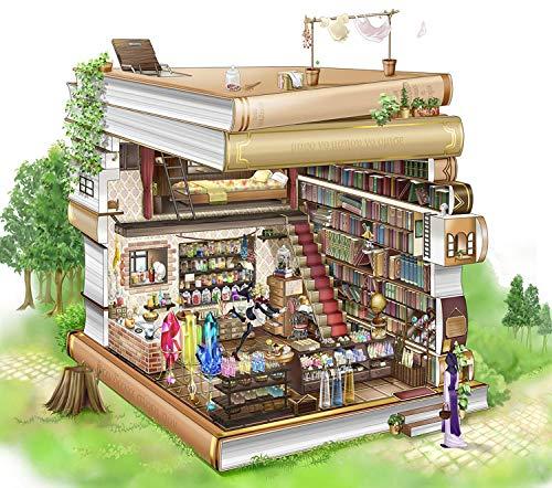 Onmogelijke Puzzelspel voor volwassenen, 6000 stukjes, boekhandel, kruidenierswinkel, educatief intellectueel…