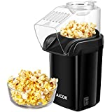 Machine à Pop Corn, Aicok Retro Popcorn Maker, Air Chaud Sans Gras...