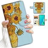 for iPhone 8 Plus, for iPhone 7 Plus, iPhone 6 Plus, iPhone 6s Plus, Designed Flip Wallet Phone Case Cover, A24263 Van Gogh Sunflowers 24263