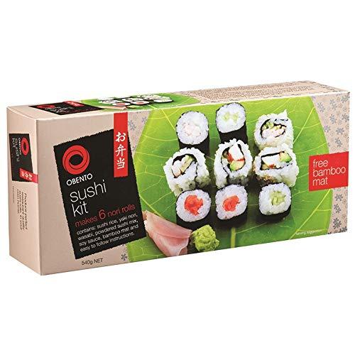 Obento Sushi Kit (Komplettset zum Selbermachen mit Anleitung), 540 g