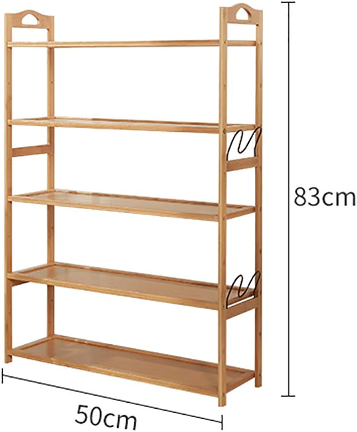 3 4 5 6-layer shoes Rack Shelf hot Pot Rack Flower Stand Bookshelf Storage Shelf shoes Cabinet Multifunction Household Doorway Entrance Space Saving (Size   50  24  83cm)