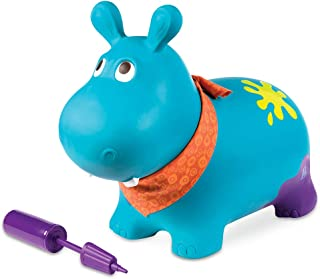 B.Toys 比乐 弹跳突击小河马 跳跳球玩具 充气弹跳球 婴幼儿童益智玩具 礼物18个月+ BX1505Z