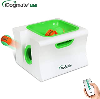 IDOGMATE Big Dog Ball Launcher, Automatic Rechargeable Tennis Ball Thrower Machine