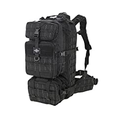 """Overall dimensions: 10.5""""(L) x 9.75""""(W) x 21.5""""(H) Overall volume: 2250 cu. in. / 36L Removable, adjustable internal frame with sheet and removable waist pack Wide load-bearing waist belt, with PALS attachments 5 compression straps, 2 webbing tie dow..."""