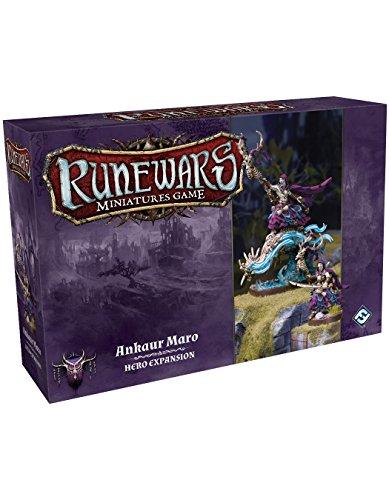 Fantasy Flight Games FFGRWM11 Rune Wars Ankaur Maro Expansion Pack Miniaturas Juego