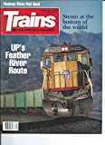 Trains; The Magazine of Railroading. Volume 51, Number 6, April 1991.