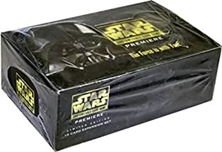 Star Wars CCG Premiere Limited Booster Box Factory sealed with 36 mint factory sealed packs