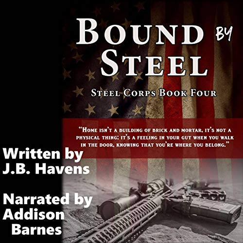 Page de couverture de Bound by Steel