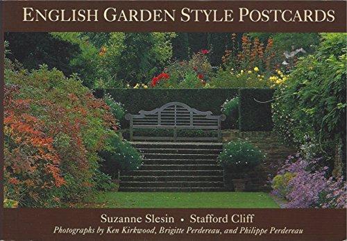 English Garden Style Postcards