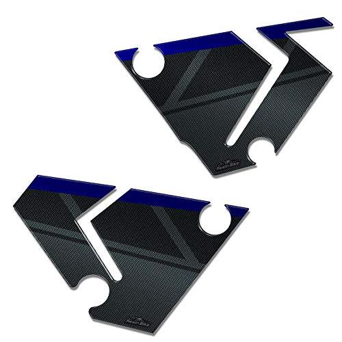 Adhesivos 3D Protecciones Lateral 04 Compatible con Yamaha T