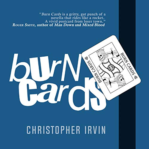 Burn Cards audiobook cover art
