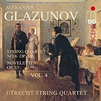 Glazunov: String Quartets Vol. 4 - Quartet #6; Novelettes (2011-08-16)