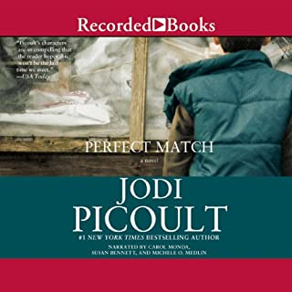 Perfect Match audiobook cover art