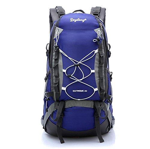 SZH&BEIB Sac à dos Randonnée grande capacité 40LWaterproof Voyage en nylon de camping activité de plein air , A