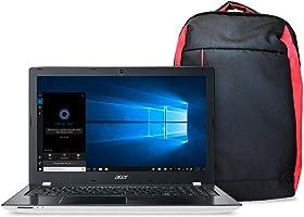 Kit Notebook Aspire E + Mochila Nitro, Aspire E5-553G-T4TJ, AMD A10 Quad Core 9600P, 4GB RAM, HD 1TB, AMD Radeon R7 M440...