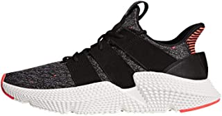 adidas Originals Men`s Prophere Running Shoe, Core Black / Solar Red, 10