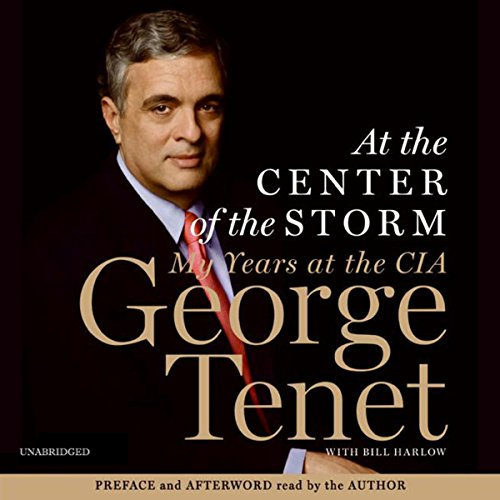 At the Center of the Storm audiobook cover art