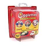Egglettes - 4 Egg Cups - Egg Cooker Hard & Soft Maker, No
