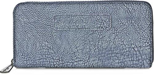FRITZI AUS PREUSSEN, Damen Geldbörsen, Geldbörsen, Brieftaschen, Portemonnaies, Blau, 19,5 x 9,5 x 2,5 cm (B x H x T)
