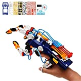 OYJFAX Robotic Hand Hydraulic Arm Science Kit Hydro Mechanics Arm Robotic Claw Gripper STEAM Hydrobot Arm Kit for Kids Adjustable Mechanical Hand for Different Hand Sizes