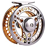 Fly Fishing Reel 2+1 BB High Die Casting Aluminium Alloy Spool Fly Reels