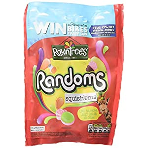 rowntress randoms squish'ems sweets, 140 g, pack of 10 Rowntress Randoms Squish'ems Sweets, 140 g, Pack of 10 51pvx7NpM6L