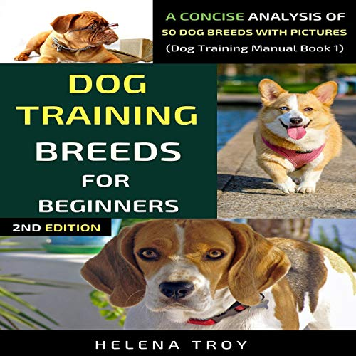 Dog Training Breeds For Beginners cover art