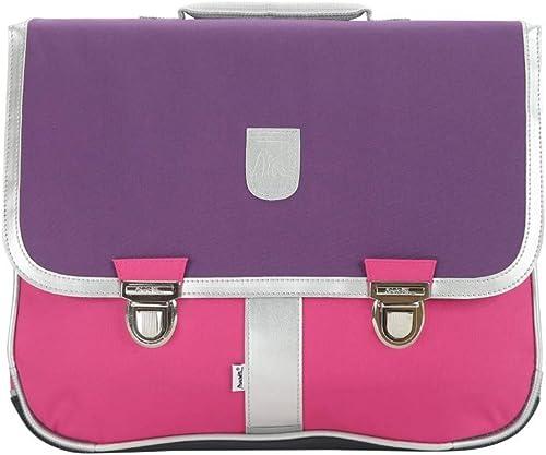Bagtrotter MSNI10MAUV Miniseri Schultasche, Größe 39,5 x 16 x 33 cm, Farbe  lilat Rosa