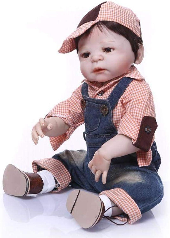 Reborn Baby Doll Realistische Geschenksicherheit Für Alter 3 Reborn Baby Dolls Geschenke Spielzeug 22 Zoll 56 cm