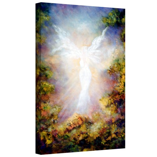 Art Wall Apparition Gallery Wrapped Canvas Art by Marina Petro, 24 by 16-Inch
