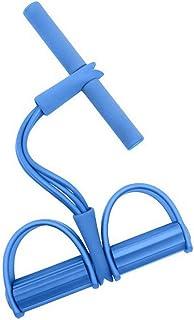 多功能拉力绳脚蹬拉力器腿练习器瑜伽拉力健身锻炼四担架踏板腿弹簧拉力