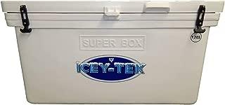 ICEY-TEK Classic 120 Quart Super Box Cooler - Cube Style Ice Chest
