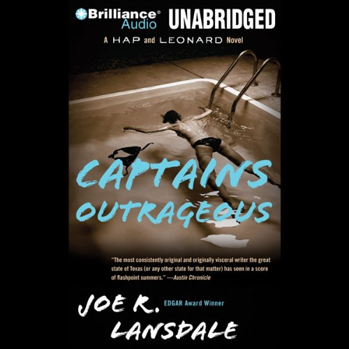 Captains Outrageous audiobook cover art