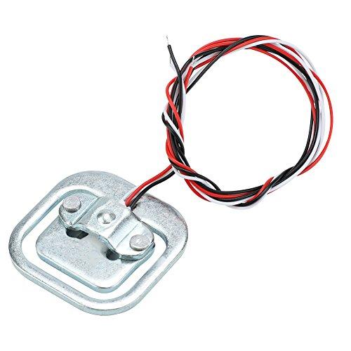 4 Stück Wägezelle,50kg / halbe Brücke 3-Wired Wiegesensor elektrischer Widerstand Dehnungsmesser