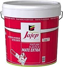 JAFEP Pintura Plastica Mate Colores Vivos Interior/Exterior Azul manchego 750 Ml