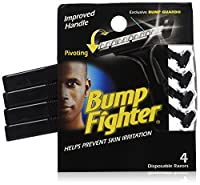 Bump Fighter Improved Handle Disposable Razors (4 ct) by American Safety Razor