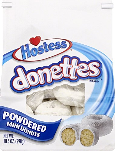 Donettes Powdered Bagged, 10.5 Ounce