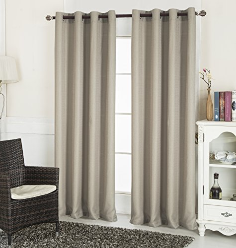 cortina marron fabricante RT Designers Collection