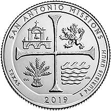 2019 P Bankroll of 40 - San Antonio Missions National Historical Park, Texas Quarter Uncirculated
