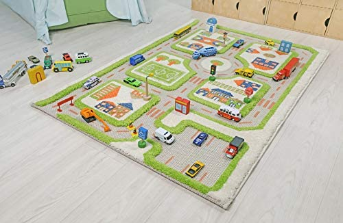 IVI Traffic 3D Play Rugs Green Small product image