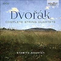 ドヴォルザーク:弦楽四重奏曲全集、弦楽三重奏曲 シュターミッツ四重奏団 (10CD)