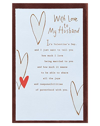 American Greetings Valentine's Day Card for Husband (Parenthood)