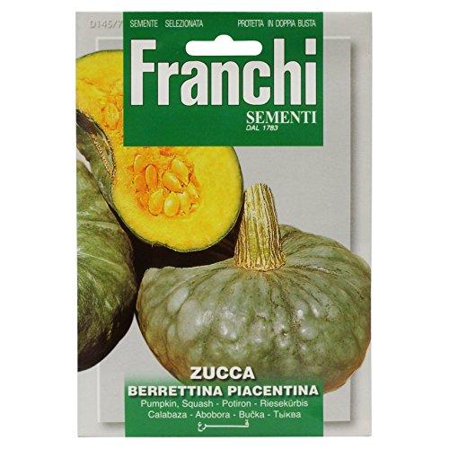 Franchi Samen Riesenkürbis Berrettina Piacentina